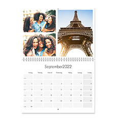 Calendrier Photo A3.Calendrier Mural Double Page A3 Portrait