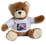 Peluche avec t-shirt photo